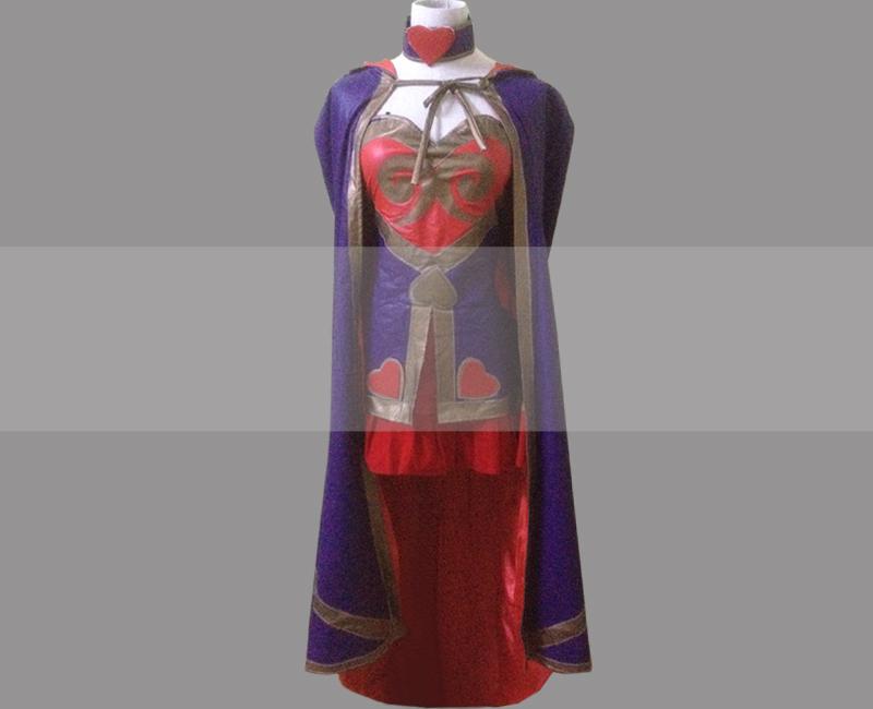 Lol heartseeker ashe cosplay costume for sale