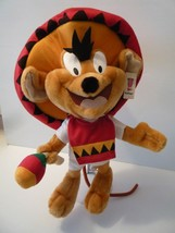 "Looney Tunes Speedy Gonzales 18"" Plush Stuffed Rare Hard to find! MINT - $19.79"