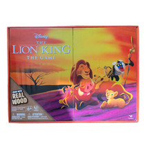 NEW Retro '90s Cardinal Disney Lion King Board Game - Deluxe Wooden Edition - $8.99