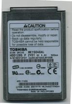 """Toshiba 10 GB,Internal,4200 RPM,1.8"""" HDD1285 Hard Drive, Ipod MK1504GAL - $9.35"""