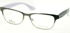 New Christian Dior CD3782 Nhu Ruthenium /BLACK Blue Eyeglasses Frame 54-16-145mm - $128.70