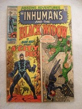 Rare Amazing Adventures The Inhumans and the Black Widow Marvel Comic #5 Book - $54.99