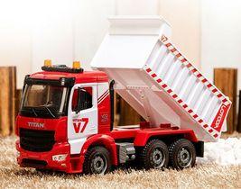 Yoowon Toys Titan Dump Truck Car Vehicle Sound Lights Heavy Equipment Play Toy image 4