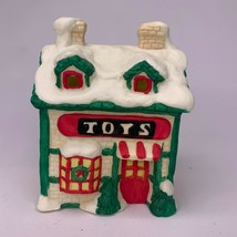 Vintage Seasonal Specialties Christmas Village House TOYS Store Workshop... - $35.00