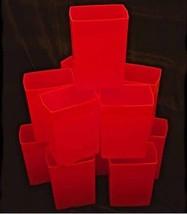 RED LUMINARY ELECTRIC BOX LIGHT SET - 1 SET - CHRISTMAS / WINTER HOLIDAY - $99.00