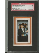 Chris Chelios 1989 Panini Stickers Autograph #379 SGC - $44.76