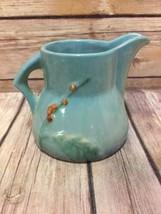 Roseville Pottery Wincraft Creamer Blue #250 C Vintage - $56.09