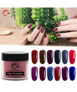 Dipping Powder Dark Color Winter For Lady Blue Red Nail Art Professional... - $4.06