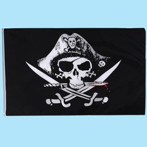 Skull Crossbones Sabres Jolly Roger Pirate And Cross Swords Flags Dead M... - $6.79