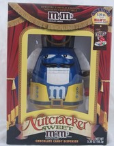 Blue M&M Nutcracker Limited Edition Holiday Collectible Candy Dispenser,... - $14.85