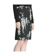Calvin Klein Women's Jacquard Straight Pencil Skirt, Black, 10 - $32.64