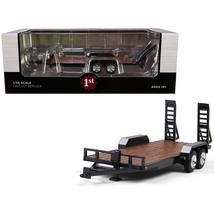 Tandem-Axle Tag Trailer Magnetic Gray 1/50 Diecast Model by First Gear 50-3421 - $34.49