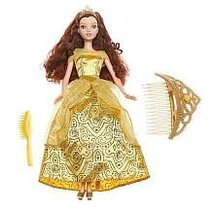 Disney Glitter Princess Doll: Belle with Tiara - $19.99