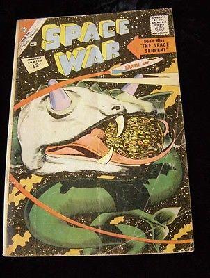 Space War Comic Book May 1962