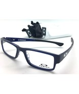 OAKLEY OX8046-0453 AIRDROP DARK BLUE ICE FRAME EYEGLASSES RX FRAME  53MM - $82.77