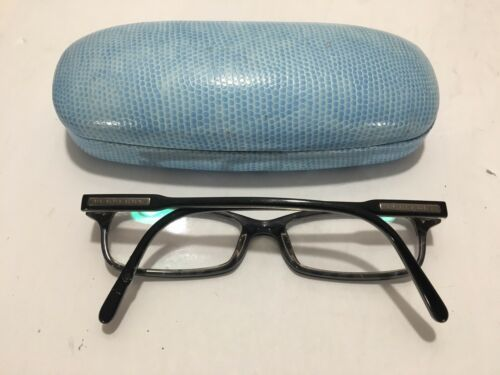 Primary image for Burberry B2004 3016 52 16 140 Italy Designer Eyeglass Frames Glasses Preowned