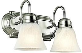 Kichler 5336NI Bath 2-Light, Brushed Nickel - $47.34