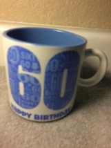 HALLMARK--60th Birthday Coffee MUG-------FREE SHIP-----NEW - $19.78