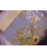 "Ralph Lauren Brittany Floral Blue Table Runner 72"" - $44.00"