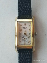 Parker vintage gold tone quartz ladies  watch - $21.36