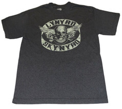 Men's Retro 2004 Lynyrd Skynyrd Gray T-shirt Sz Medium Band Tee Rock N R... - $16.99