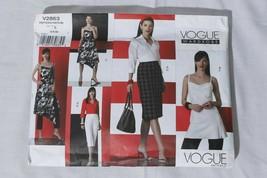 Vogue Wardrobe Uncut Sewing Pattern V2863 Size A (6-8-10) - $18.76