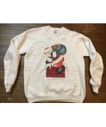 vintage ugly santa christmas sweatshirt jerzees XL - $19.00