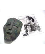 The Mask Loki Mask Jim Carrey Custom made Cast Off The Original Used In ... - $200.00