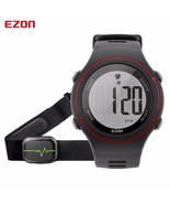 EZON Heart Rate Monitor Sports Digital Watch Running Watch WR 50m W/ Che... - $33.94