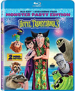 Hotel Transylvania 3 [Blu-ray + DVD] (2018) - $13.95