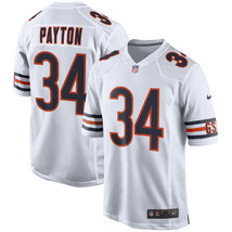 Youth Walter Payton Jersey #34 Chicago Bears White Stitched Elite Jersey - $35.99