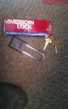 AMERICAN LOCK A1107KABLK Lockout Padlock, KA, Black, 1/4In. Dia. image 1