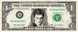 HARRY POTTER on a REAL Dollar Bill Daniel Radcliffe Cash Money Collectib... - $4.50