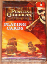Playing Cards Pirates Of The Caribb EAN Playing Card Game 2007 Disney Bicycle New - $10.00