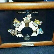 Tokyo Disney Sea Grand Open Countdown Memorial Frame Pin Batch Character Goods - $274.23