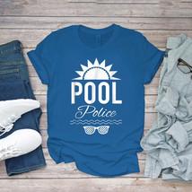 Swimming Funny Tee Pool Police Swimmings Pool Patrol Swim Unisex - $15.99+