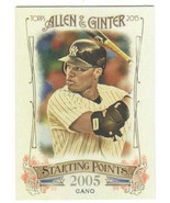 2015 Allen and Ginter Starting Points #SP-77 Robinson Cano NM-MT Yankees - $1.25