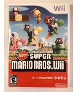 New Super Mario Bros. - Nintendo Wii - Replacement Case - No Game - $7.91