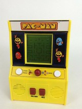 Miniature Arcade Machine Pac-Man Handheld Video Game Bandai Namco with Batteries - $19.55