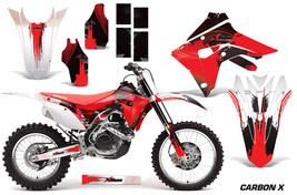 Dirt Bike Graphics Decal Sticker Wrap For Honda CRF450R CRF450RX 17-18 C... - $178.82