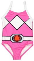 Power Rangers Girls Swimwear Swimsuit (5-6, Pink Ranger One Piece) - $36.97