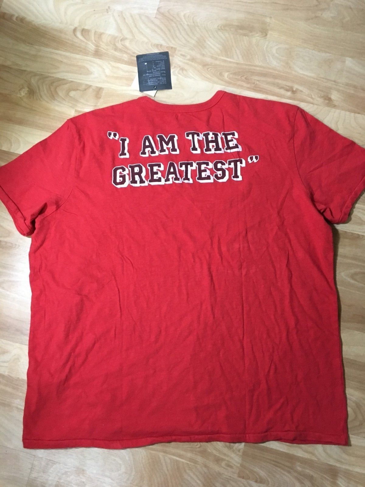 Lucky Brand Muhammad Ali T-Shirt, Size XXL, Red, NWT  D2