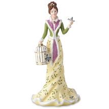 Lenox 2016 Christmas Princess Figurine Annual Constance Blue Bird Cage G... - $79.00