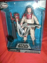 "Star Wars: Rouge One Disney Elite Series Baze Malbus 6 1/2"" Action Figure New - $14.00"