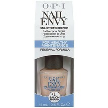 OPI NAIL ENVY NAIL STRENGTHENER RENEWAL FORMULA FOR HEALTHY MAINTENANCE ... - $11.87