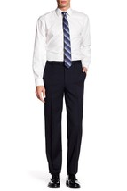 New Tommy Hilfiger Classic Tailored Trim Fit Wool Navy Dress Pants 42 X 32 $175 - $49.99