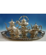 Francis I By Reed & Barton Sterling Silver Tea Set 6pc w/ Sterling Tray (#2118) - $29,500.00