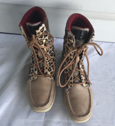 ead50c68b3a3 Sperry Top Sider Hikerfish Womens Leopard and 50 similar items