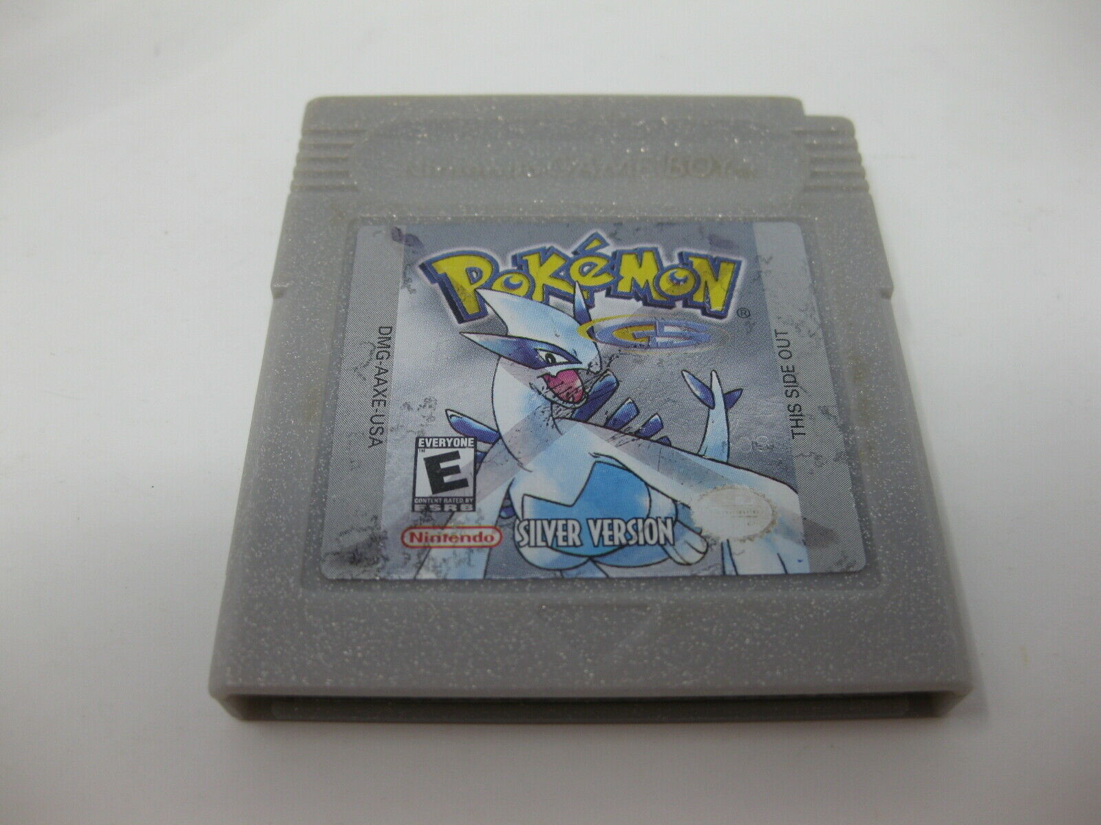 Pokemon Silver Version Nintendo Game Boy Color - Authentic OEM