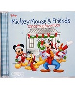 Mickey Mouse & Friends Christmas Favorites [Audio CD] Mickey and the Gan... - $8.86